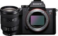 Sony A7R Mark III w/ FE 24-105 mm F4 G OSS Lens Compact System Camera