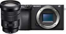 Sony Alpha A6400 Black Body w/ Sony G 18-105mm f/4 Power Zoom Lens Compact System Camera