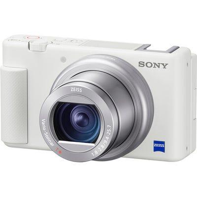Sony ZV-1 White Digital Vlog Camera