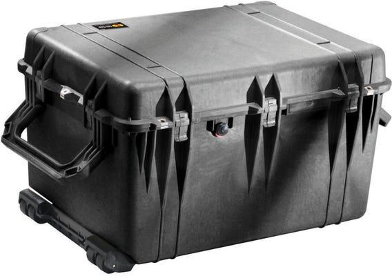 Pelican 1660 Black Case with Foam