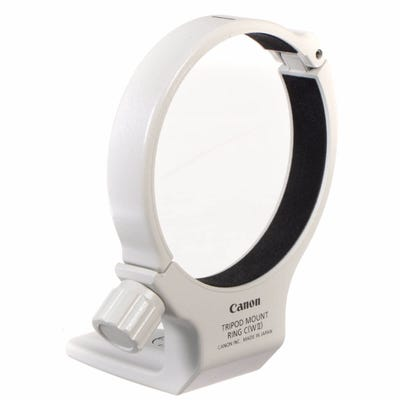 Canon TMRCWII Tripod Mount Ring White
