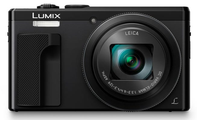 Panasonic Lumix TZ80 Black Digital Compact Camera