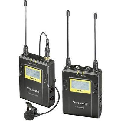 Saramonic UwMic9 Wireless Omni Lavalier Microphone System (TX9+RX9)
