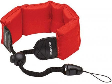 Olympus CHS-09 Red Floating Strap
