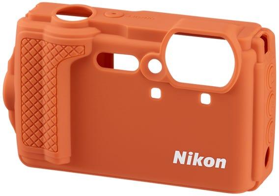 Nikon Orange Silicone Jacket for W300