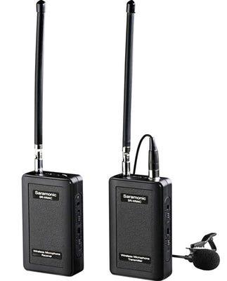 Saramonic Wireless 4-Channel VHF Lavalier Omnidirectional Microphone System