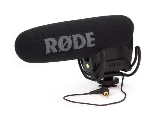 Rode VideoMic Pro+ Directional On-Camera Microphone