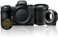 Nikon Z 6 Mirroless Camera w/Nikkor Z 24-70mm f/4S Lens & Mount Adapter FTZ