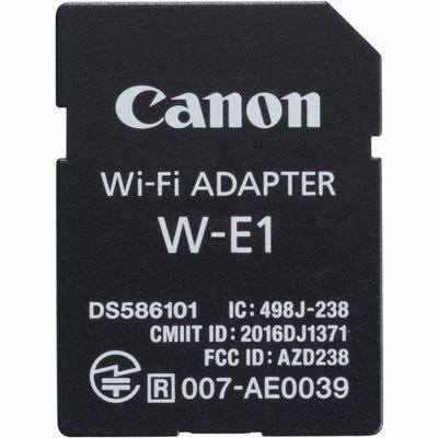 Canon W-E1 SD card WiFi Adaptor