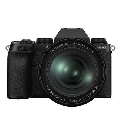 Fujifilm X-S10 Body - Black w/ XF16-80mm Lens