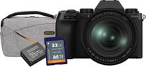 FujiFilm X-S10 Body - Black w/XF 16-80mm Lens BONUS Bag, Battery & 32GB Card