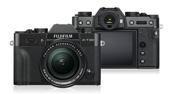 FujiFilm X-T30 Body - Black w/ XF18-55mm Lens Compact System Camera