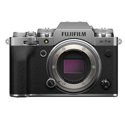 FujiFilm X-T4 Body Silver Compact System Camera