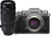 Fujifilm X-T4 Body Silver w/ XF 100-400mm F4.5-4.6 R OIS WR Lens