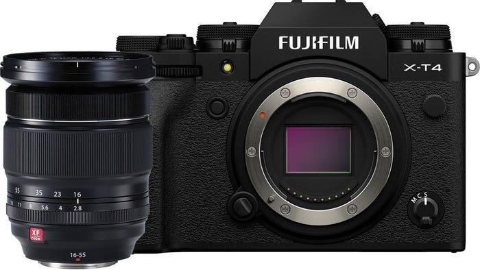 Fujifilm X-T4 Body Black w/ XF 16-55mmF2.8 R LM WR Lens