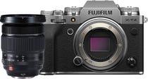 Fujifilm X-T4 Body Silver w/ XF 16-55mm F2.8 R LM WR Lens