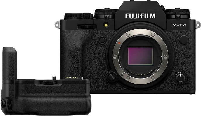 Fujifilm X-T4 Body Black w/ Vertical Grip for XT4