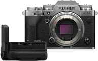 Fujifilm X-T4 Body Silver w/ Vertical Grip for XT4