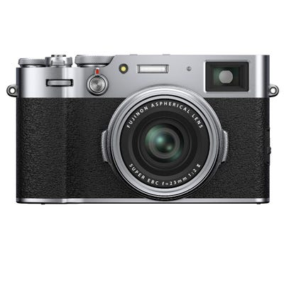 FujiFilm X100V Silver Digital Compact Camera