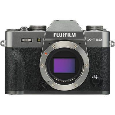 FujiFilm X-T30 Body - Premium Silver Compact System Camera