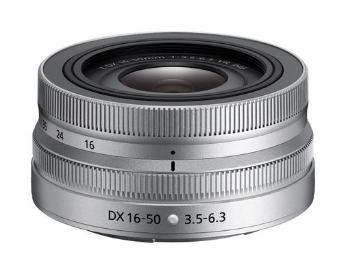 Nikon Nikkor Z DX 16-50mm f/3.5-6.3 VR Lens SL