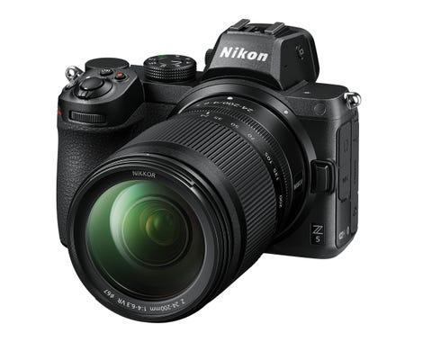 Nikon Z 5 Body w/Nikkor Z 24- 200mm f/4-6.3 Lens Full Frame Mirrorless Camera