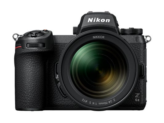 Nikon Z 6II w/Nikkor Z 24-70mm f/4 S Lens Full Frame Mirrorless Camera