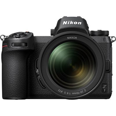 Nikon Z 7 Body w/Nikkor 24-70 mm  f/4 S Lens Full Frame Mirrorless Camera