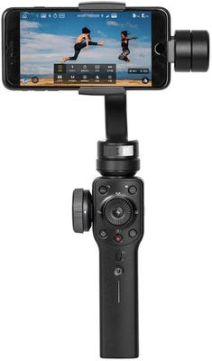 Zhiyun-Tech Smooth 4 3-Axis Handheld Gimbal - Black for SmartPhones