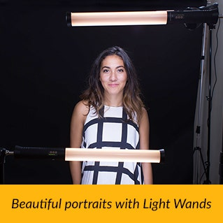ProMaster Portrait with Light Wands