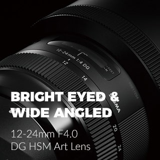 Sigma 12-24mm F4.0 DG HSM Art Lens