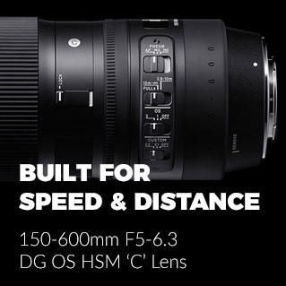 Sigma_150-600mm F5-6.3 DG OS HSM 'C' Lens