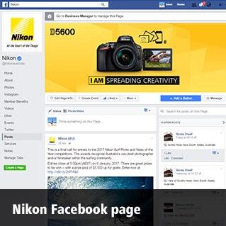 Nikon Facebook