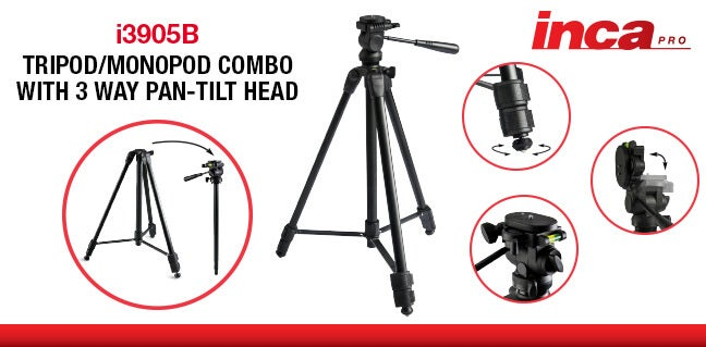 Inca Video Tripod