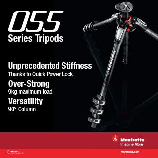 Manfrotto 055 Series Tripods