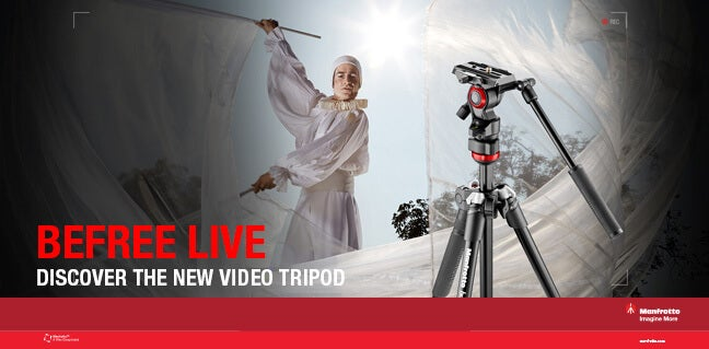 Manfrotto BeFree Live tripod
