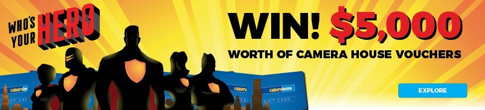 Win $5,000 worth of Camera House vouchers