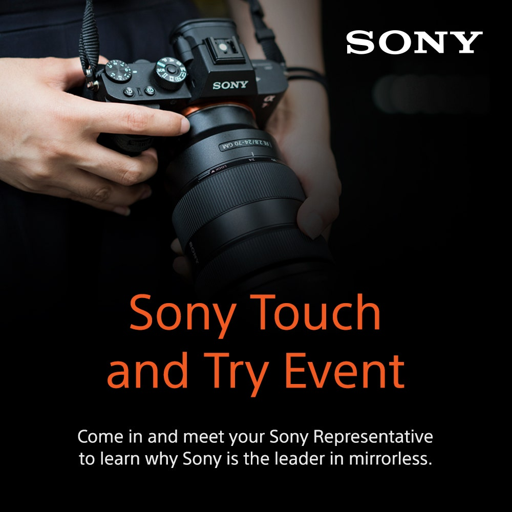 Sony Touch and Try